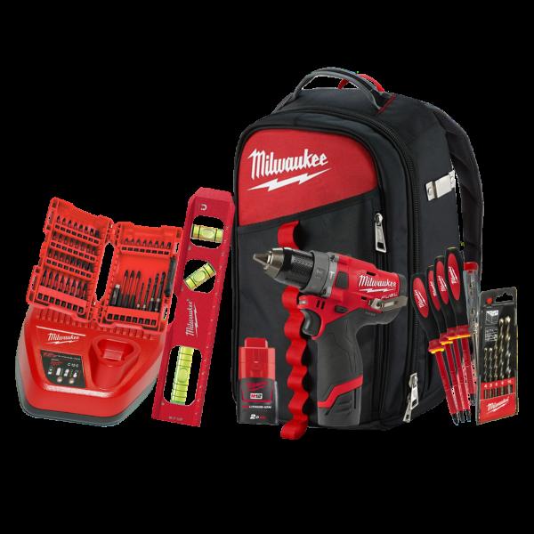 Set electrician Milwaukee M12