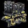 Set DeWalt DCK654P3T-QW flex bormasina