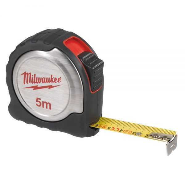 Ruleta metalica Milwaukee 5m