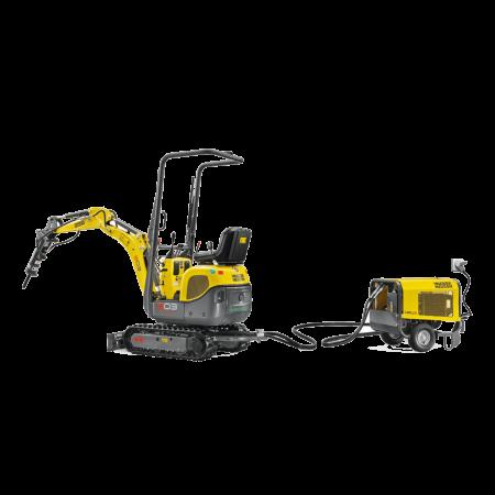 Excavator conventional pe senile Wacker-Neuson 803 Dual Power