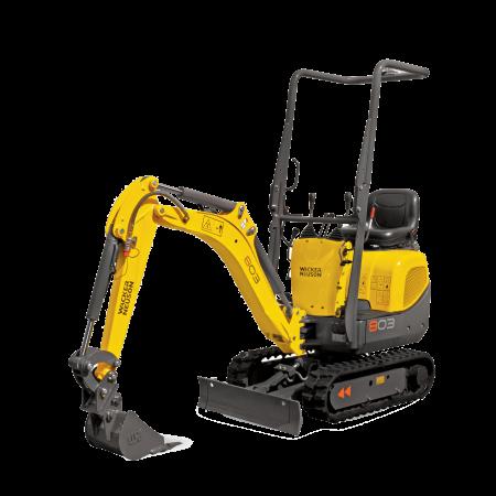 Excavator conventional pe senile Wacker-Neuson 803