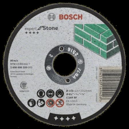 Disc abraziv Bosch Piatra Ø115x2,5mm