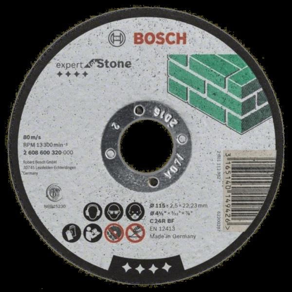 Disc abraziv Bosch Piatra Ø115×2,5mm