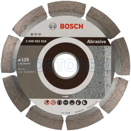 Disc diamantat Bosch ABRASIVE