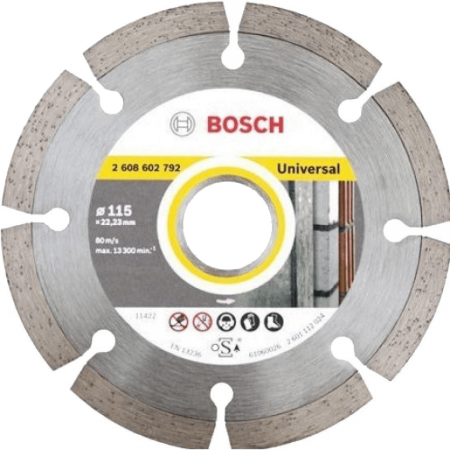 Disc diamantat Bosch UNIVERSAL Ø115mm ⬙