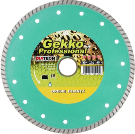 Disc diamantat Diatech GEKKO CERAMIC Ø115mm