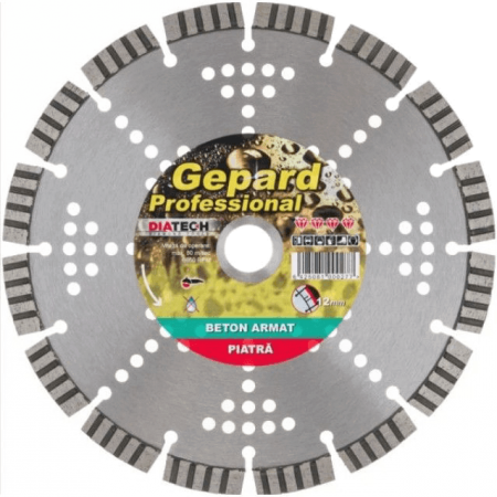 Disc diamantat Diatech GEPARD STONE Ø125mm