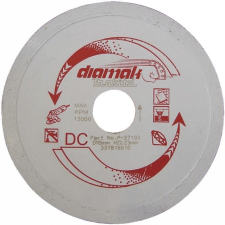 Disc diamantat Makita DIAMAK MARBLE