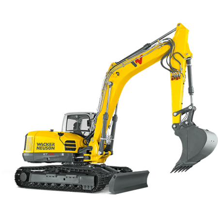 Excavator conventional pe senile Wacker-Neuson ET145