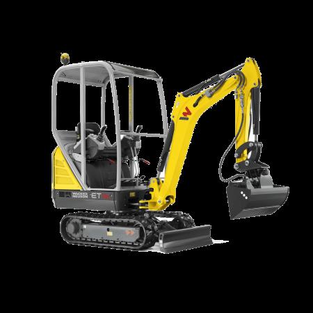 Excavator conventional pe senile Wacker-Neuson ET16