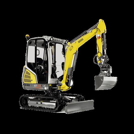 Excavator conventional pe senile Wacker-Neuson ET24