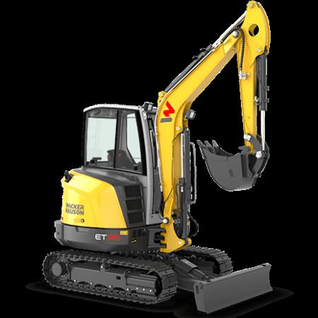 Excavator conventional pe senile Wacker-Neuson ET35