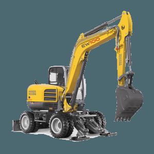 Excavator pe roti Wacker-Neuson EW100