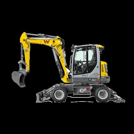 Excavator pe roti Wacker-Neuson EW65