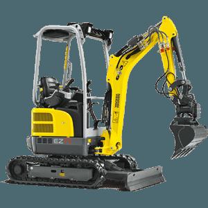 Excavator compact pe senile Wacker-Neuson EZ17