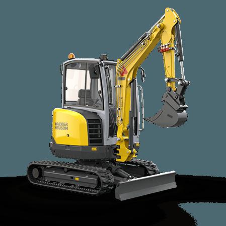 Excavator compact pe senile Wacker-Neuson EZ26