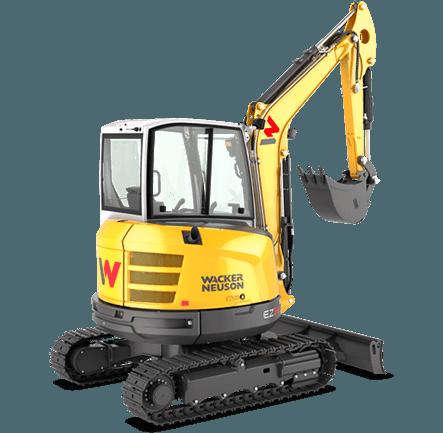 Excavator compact pe senile Wacker-Neuson EZ36