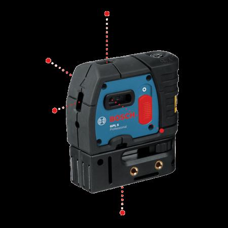 Nivela laser cu 5 puncte Bosch GPL 5
