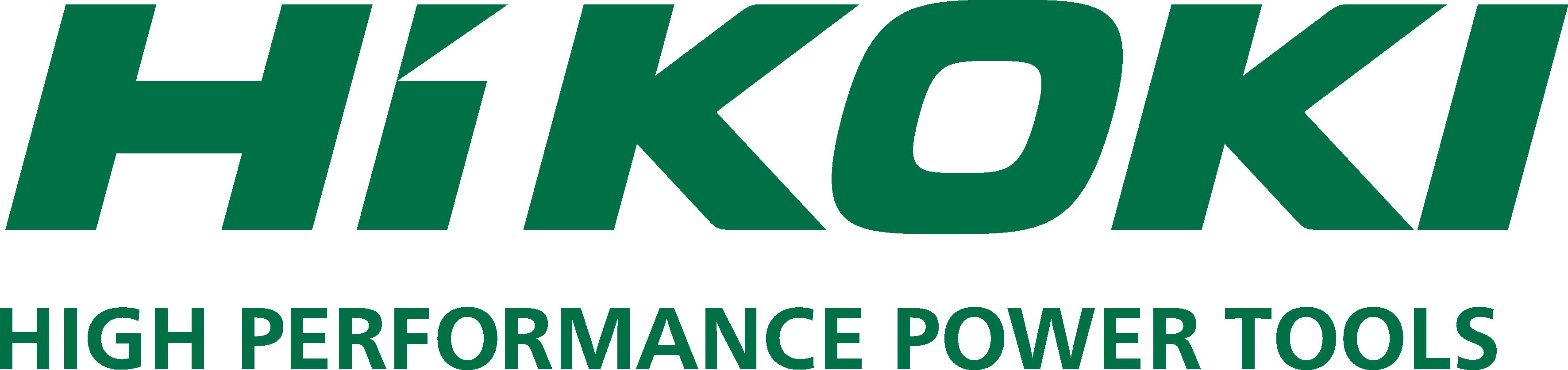HiKOKI logo slogan green