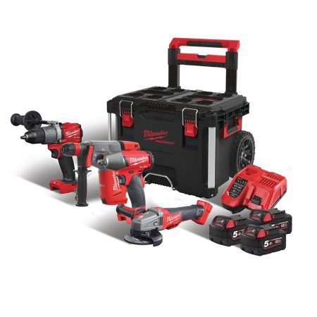 Set PowerPack Milwaukee M18FPP4A-503P