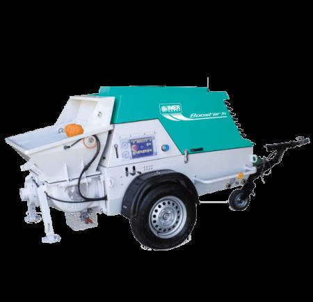 Pompa de beton cu motor diesel IMER Booster 15