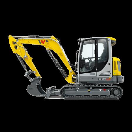 Excavator conventional pe senile Wacker-Neuson ET65
