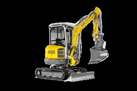 Excavator compact pe senile Wacker Neuson EZ28