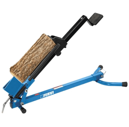 Masina despicat lemne manuala Fervi S015