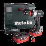 Masina de gaurit/infiletat cu 2 acumulatori Metabo BS 18 LTX LiHD