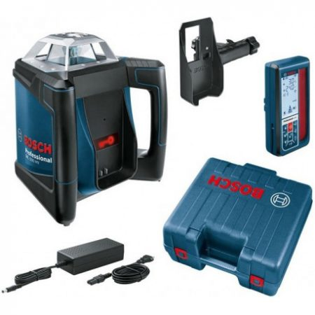 Nivela laser rotativa Bosch GRL 500 HV + Bosch LR 50