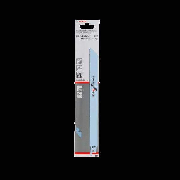 Set 2 lame fierastrau sabie Bosch S 1122 EF