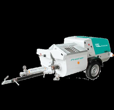 Masina de tencuit cu motor diesel IMER Step 120 A