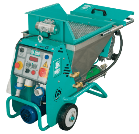 Masina de tencuit monofazat IMER Small 50