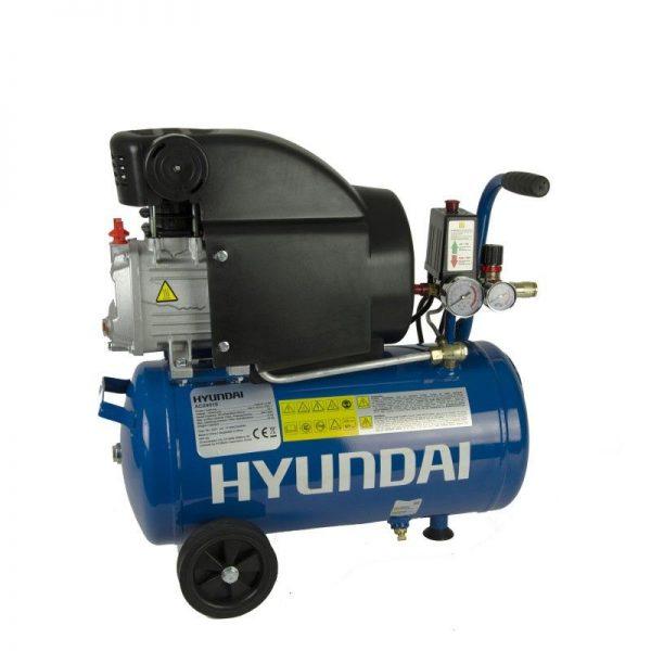 Compresor cu piston butelie de 24 L Hyundai HY-AC2401