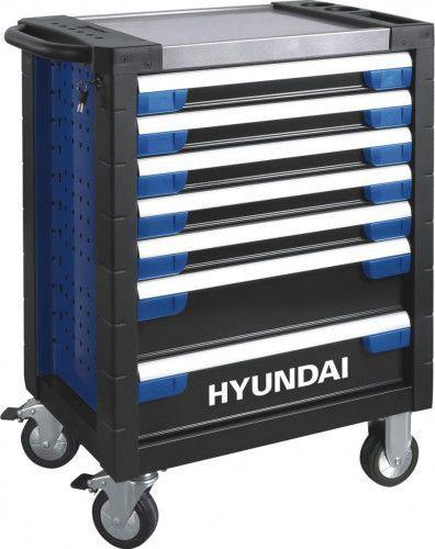 Dulap cu scule Hyundai 7 sertare 302 piese HY-TS302