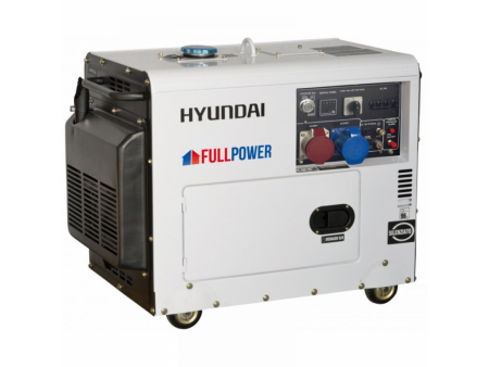 Generator de curent electric 7 kVA Hyundai DHY8600SE -T