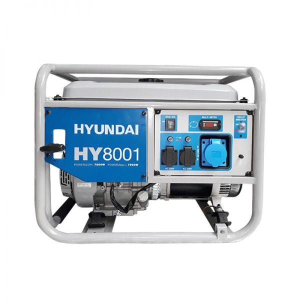 Generator de curent monofazic 7.5 kW Hyundai HY8001
