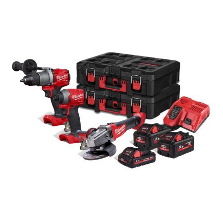 Set 3 scule Milwaukee M18 FPP302-533P