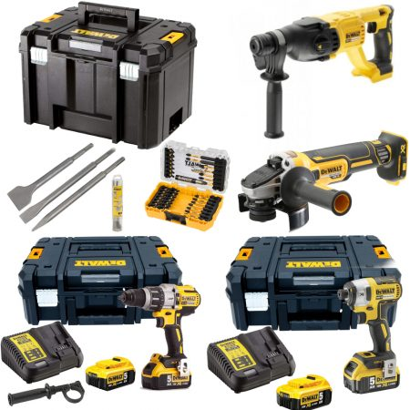 Set 4 scule DeWalt BF5 Ultimate Pack