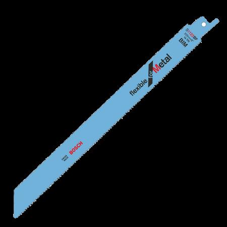 Set 5 lame fierastrau sabie Bosch bimetal 225mm