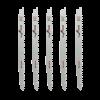 Set 5 lame fierastrau sabie Bosch HCS 240mm