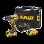 Masina de gaurit/infiletat cu 2 acumulatori Dewalt DCD791L2T