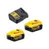 Set incarcator si 2 acumulatori DeWalt DCB115P2